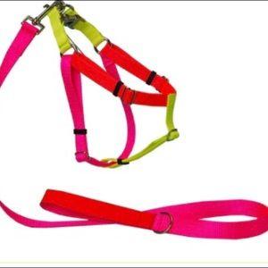 Colourblock Nylon Harness - Medium